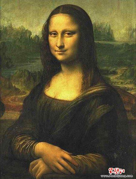 蒙娜丽莎的微笑因为怀孕的满足