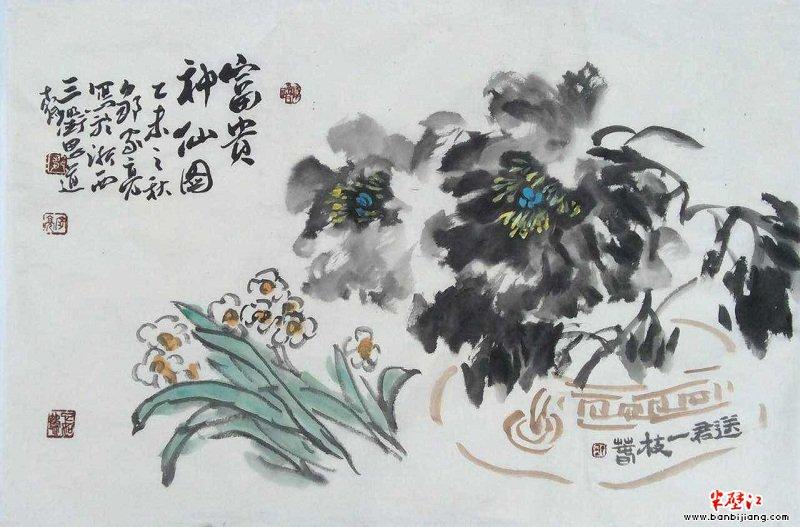 画家邹家亮画论十:中国写意画是演奏,不是作曲