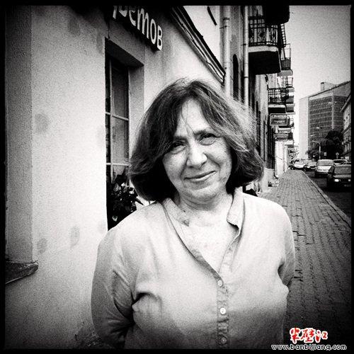 资料图:白俄罗斯作家、记者斯维特兰娜·阿列克谢耶维奇