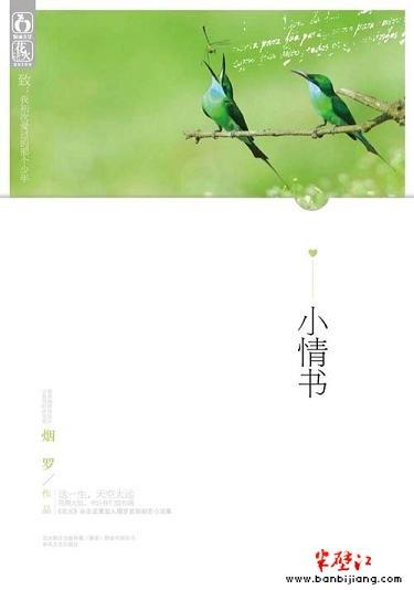 烟罗初恋纪念小说集 小情书 ,感动千万读者心灵图片