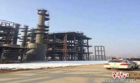 沂水:富尔德化工厂工地 农民工讨薪不成欲跳塔2