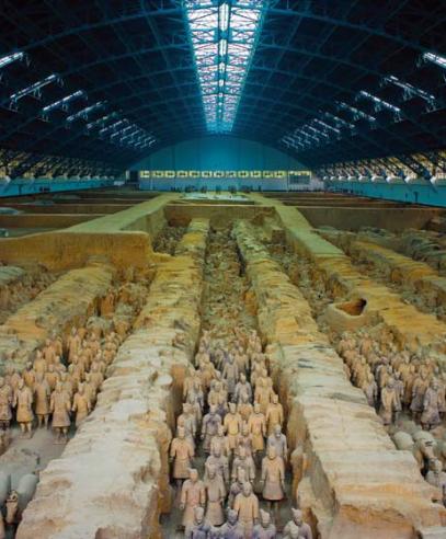 西安:秦砖汉瓦的时光