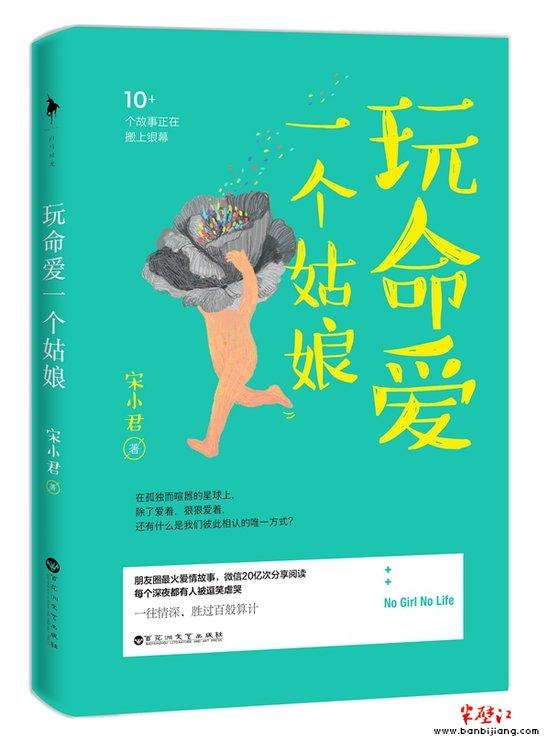 《玩命爱一个姑娘》图书封面。
