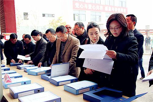 绵阳市就业扶贫工作组一行到北川七一职中检查指导工作