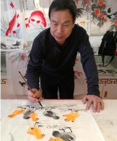 勤奋迎来花似锦  一枝一叶总关情――专访北京画家邢平福先生