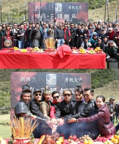 看完《真三国无双》的剧照与演员阵容,网友:终于不是鲜肉流量了!
