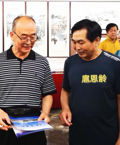 扈恩龄百米长卷入选北京大学文化项目